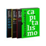 "Box da Trilogia ""Desvendando o Capitalismo"" (Acompanha Cartela de Adesivos)"
