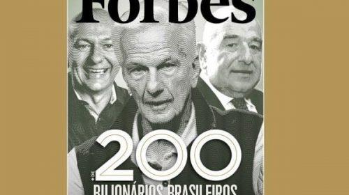 A lista de bilionários da Forbes e a destruição do Brasil