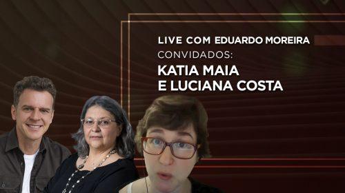 VÍDEO – A desigualdade e a COVID-19 com Katia Maia e Luciana Costa