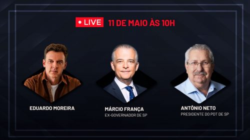 VÍDEO – Eduardo Moreira, Antônio Neto e Márcio França sobre COVID-19 e política
