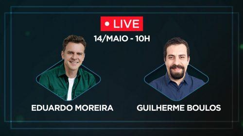 VÍDEO – Eduardo Moreira e Guilherme Boulos