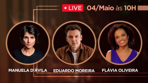 VÍDEO – Manuela D'ávila e Flávia Oliveira sobre o atual momento que estamos vivendo