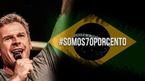 Porta-voz do #somos70porcento, Eduardo Moreira é capa no jornal Valor Econômico