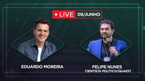 VÍDEO – Política nas redes sociais – Live com o Cientista Político Felipe Nunes