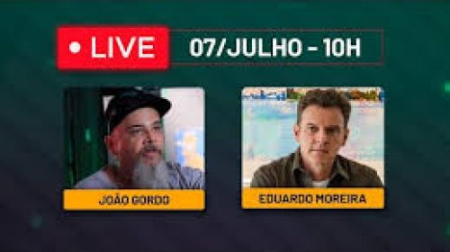 VÍDEO – Live com João Gordo e Eduardo Moreira