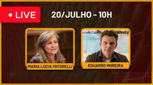 VÍDEO – Live com Maria Lúcia Fattorelli