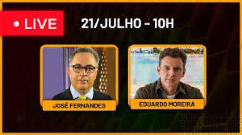 VÍDEO – Live com José Fernandes (Portal do José)