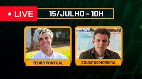 VÍDEO – Live com Pedro Pontual