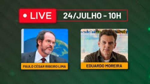 VÍDEO – Live com Paulo César Ribeiro Lima