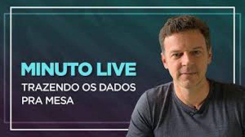 VÍDEO – Trazendo os dados pra mesa – Minuto Live