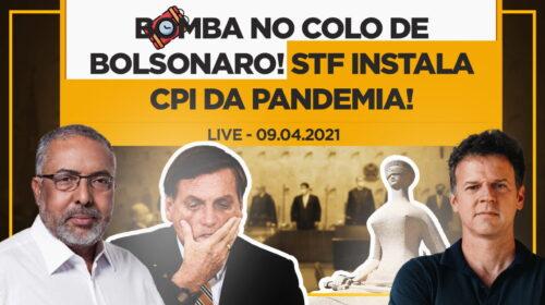 BOMBA no colo de Bolsonaro! STF instala CPI da Pandemia!