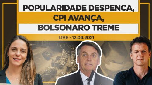 Popularidade despenca, CPI avança, Bolsonaro treme – Live com a Dep. Federal Fernanda Melchionna